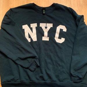 Wild Fable/Target NYC sweatshirt.